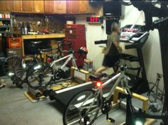 Let see your Pain Cave (Page 6): Triathlon Forum: Slowtwitch Forums