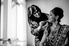 Indian Wedding in Jersey City, Hyatt - Bride's wedding dress by PhotosMadeEz.
