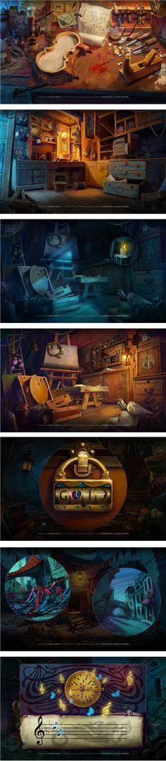 Bluebeard's Castle: Son of the Heartless (part 2), Illustration © NastyaGlazunova