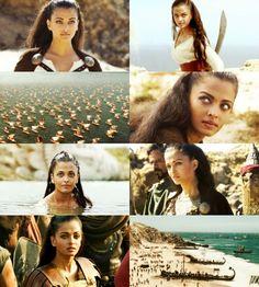 five canon historical figures (5/5) ~ Aishwarya Rai as Princess Nymeria of Ny Sar