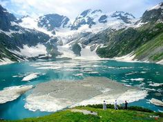 Katora ( bowl ) Lake in DIR Valley, Pakistan