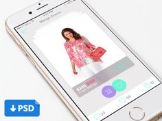 eCommerce Mobile Application UI PSD