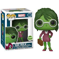 Hulk - Lawyer She Hulk Pop! Vinyl Figure (2018 Spring Convention Exclusive)