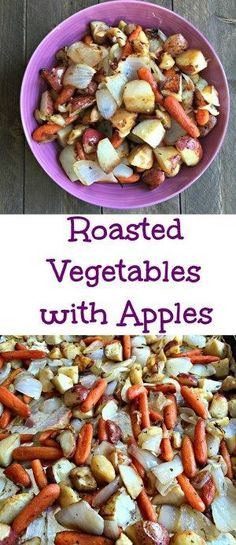 Roasted Vegetables with Apples