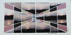 un coucher de soleil sur l'Odet à Bénodet (mise en page vue chez Sachana, gab point de fuite)