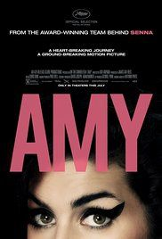 """Art Film: """"Amy"""", 2016 Oscar winner for Best Documentary.  March 31 at 7:30pm  $5"""