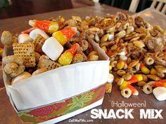 Halloween Snack Mix - Call Me PMc