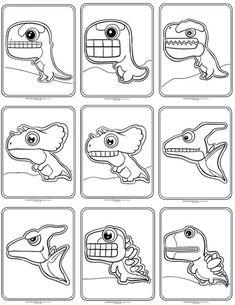 Dinosaur Party Activities, Dinosaur Crafts, Preschool Activities, Diy Gifts For Kids, Diy For Kids, Crafts For Kids, Letter D Crafts, Dibujos Toy Story, Student Crafts