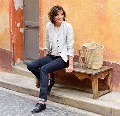 Ines de la Fressange pour UNIQLO, 3ème collection très campagne chic - Magazine Avantages