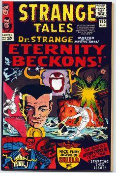 Strange Tales #135 (custom Dr. Strange cover)