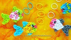 Poisson Rainbow Loom en élastiques - Tuto niveau intermédiaire