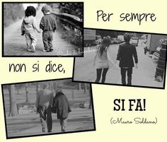 Per sempre non si dice, si fa! Italian Quotes, Dice, Messages, Words, Movies, Movie Posters, Mondays, Film Poster, Films
