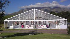 Outdoor entertainment luxury clear cover outdoor party tents re - locatable