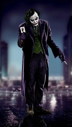 Joker Heath, Joker Batman, Comic Del Joker, Joker Y Harley Quinn, Der Joker, Joker Art, Heath Ledger Joker Wallpaper, Batman Joker Wallpaper, Joker Iphone Wallpaper