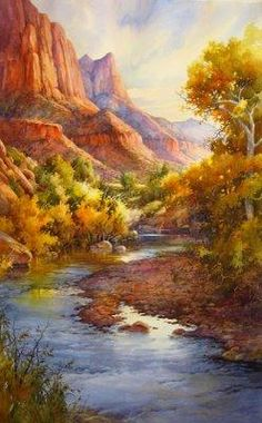 Virgin Beauty in Zion – Giclee Print