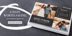 Save the Date with Unique Save the Dates & Invitations | Wedding ...