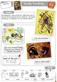 Parcours en histoire de l'art : Musette Souricette Art History Memes, Art History Lessons, History Projects, Art Lessons, Kandinsky, Roman History Books, Programme D'art, Ecole Art, Art Curriculum