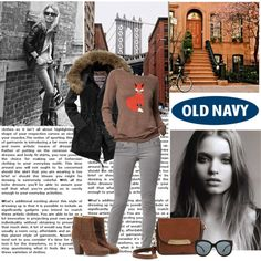 """Style That Sweater with Old Navy"" by alaria on Polyvore... Sold out of this @ My store but I love it!"