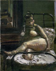 Walter Sickert (1860-1942) La Hollandaise, c. 1906 Oil on canvas - 50,8 x 40,6 London, Tate Gallery