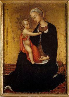 Il Sassetta (Stefano di Giovanni) - Madonna dell'Umiltà - 1433 - Pinacoteca Vaticana, Città del Vaticano