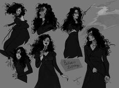 Character Design / Winter on Behance Fanart Harry Potter, Harry Potter World, Harry Potter Memes, Potter Facts, Slytherin, Character Art, Character Design, Desenhos Harry Potter, Black Sisters