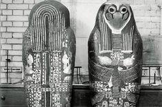 Cartonnage de la momie de Sheshonq II trouvé dans l'antichambre du tombeau de Psousennès Ier ; nécropole royale de Tanis, NRT III. Source : Tanis, images d'une cité enfouie