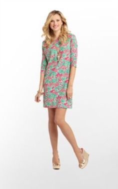 """Lilly Pulitzer """"Orchid Pink Spike The Punch"""" print Cassie dress. Birthday?"""