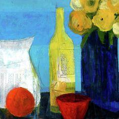 Sunny Kitchen Painting  - Sunny Kitchen Fine Art Print