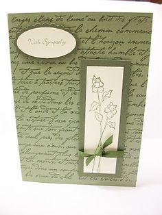 """Oh So Lovely"" Stampin Up"