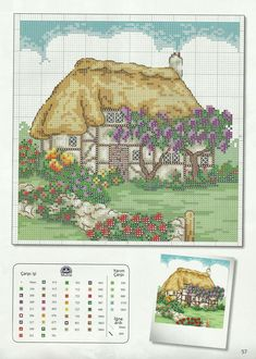 Cottage needlework chart