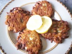 Deep fried cauliflower fritters. Good for sandwiches in a pita bread