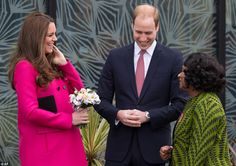 Prince William and the Duchess of Cambridge had a tour of the centre with Baroness Lawrenc...