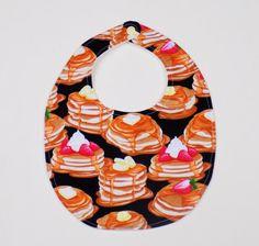 pancakes baby bib food clothing food lover gift by JamJamsJam