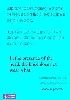 Adinkra Alphabet (adinkraalphabet) on Pinterest