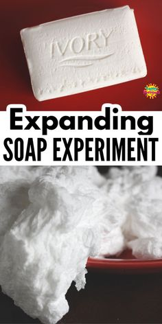 Science For Toddlers, Toddler Science Experiments, Easy Science, Kids Learning Activities, Preschool Science, Craft Kits For Kids, Crafts For Kids, Craft Ideas, Ivory Soap