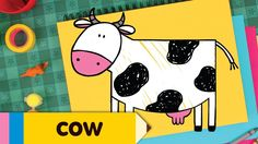 Learn how to draw a cow, step by step, with Super Simple Draw!