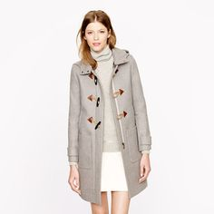 Convertible toggle coat from J.Crew is 255 off with code SHOPFALL and it comes in three colors  We've updated our classic toggle coat so it's still classic—but totally new—in a convertible silhouette that lets you lose the hood depending on the weather (and your outfit).