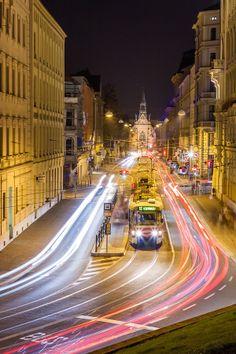 Šilingrovo náměstí - Brno Noční