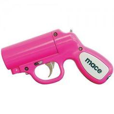 Best Mace Pepper Spray for women. The Pink Mace Pepper Gun Awesome