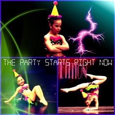 The Party Starts Right Now: Mackenzie Ziegler's Solo. Credit to @StyleSpaceandStuff.Blogspot.com Moore