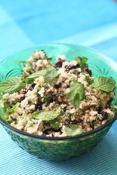 "Cauliflower ""Couscous""-like Salad"