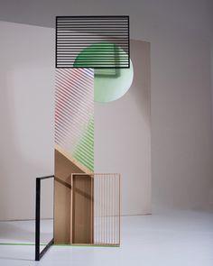 Katharina Trudzinski, Untitled. 2014, scrap wood and street detritus