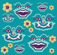 Thai Collection : Pattern Design on Behance
