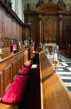 Trinity College Chapel, Oxford University