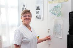 Elena Gotti, nurse coach