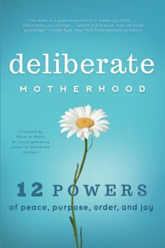 Occasionally Crafty: Deliberate Motherhood: If You Are a Mom, Read This Book