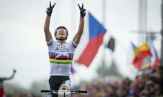 #NinoSchurter and 5th win out of 6 races at the Nove Mesto World Cup 2013. #SCOTTbikes