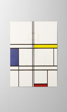 Piet Mondrian screen printed greeting card  artist portrait Piet Mondrian, Print Finishes, Letterpress, Screen Printing, Greeting Cards, Portrait, Printed, Artist, Cotton