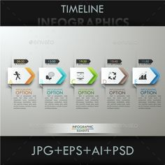 Modern Infographics Paper Template Vector #design Download: http://graphicriver.net/item/modern-infographics-paper-template/13495013?ref=ksioks