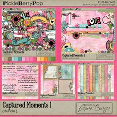 Captured Moments 1 Bundled Collection By Designs by Laura Burger